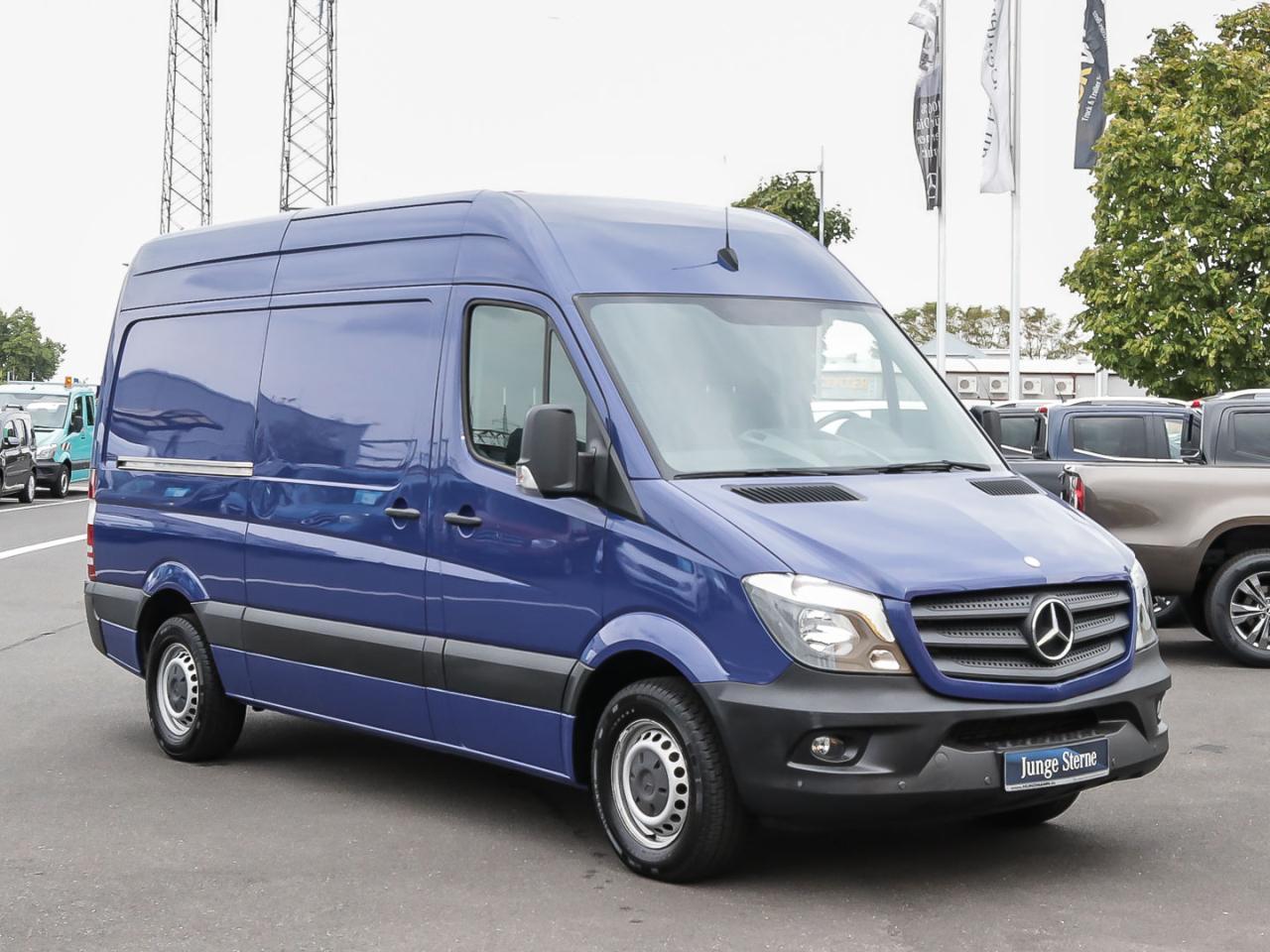Mercedes-Benz Sprinter 313 CDI Kasten MR AHK2,8t PT Radio Hoch