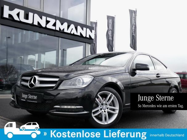 Mercedes-Benz C 220 CDI Coupé Navi AHK Parktronic Thermatic