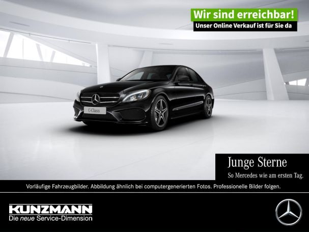 Mercedes-Benz C 250 AMG Night Comand LED Spiegel-P Keyless-Go