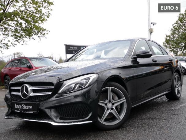 Mercedes-Benz C 250 d 4M AMG Navi LED Distronic+ Totwinkel AHK