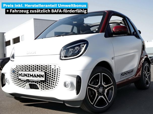 Mercedes-Benz smart EQ fortwo cabrio Exclusive-Paket LED SHZ