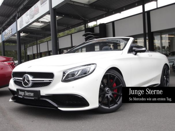 Mercedes-Benz S 63 AMG 4M Cabrio Night LED/ILS 241.944,85 EURO