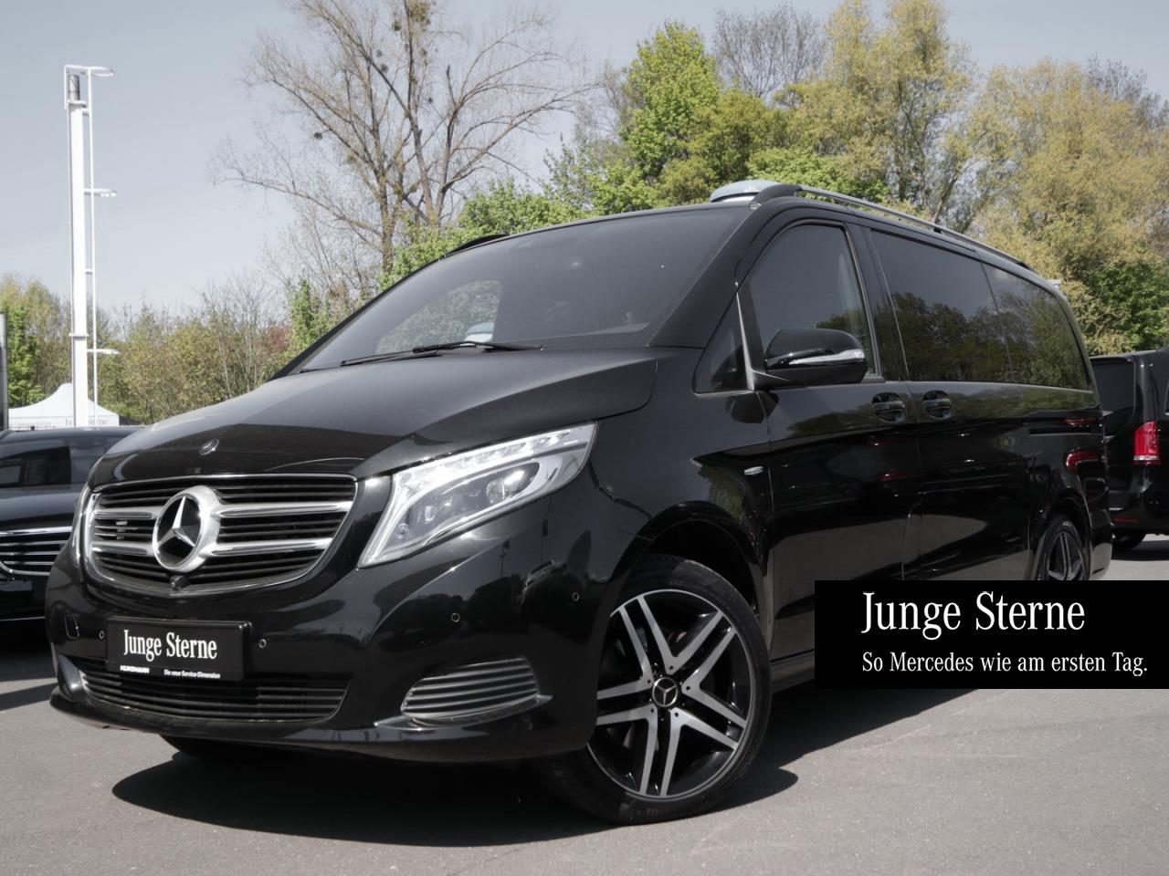Fahrgastraum Mercedes W447 V-klasse Lang 1-Schiebetür ohne Tisch Anthrazit