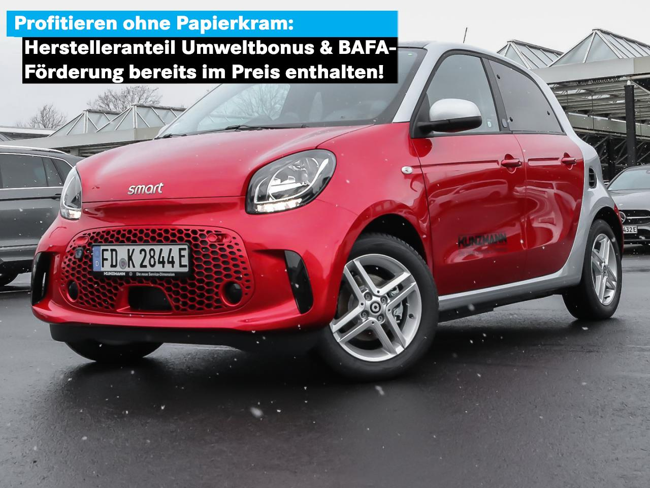SMART smart EQ forfour Kamera Panoramadach DAB WinterP