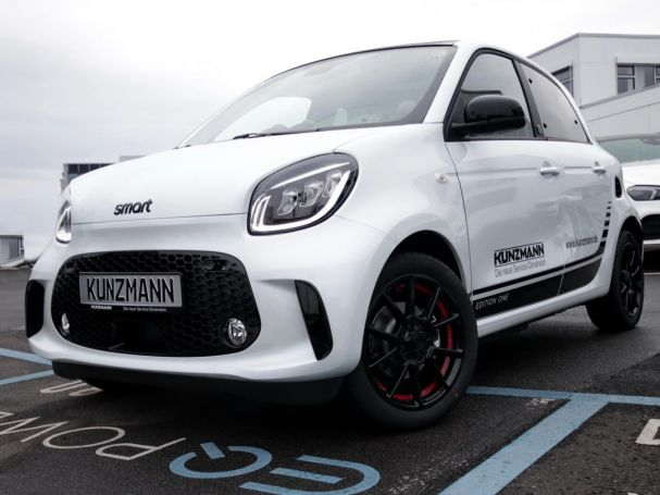 SMART smart EQ forfour Exclusive LED DAB Panoramadach