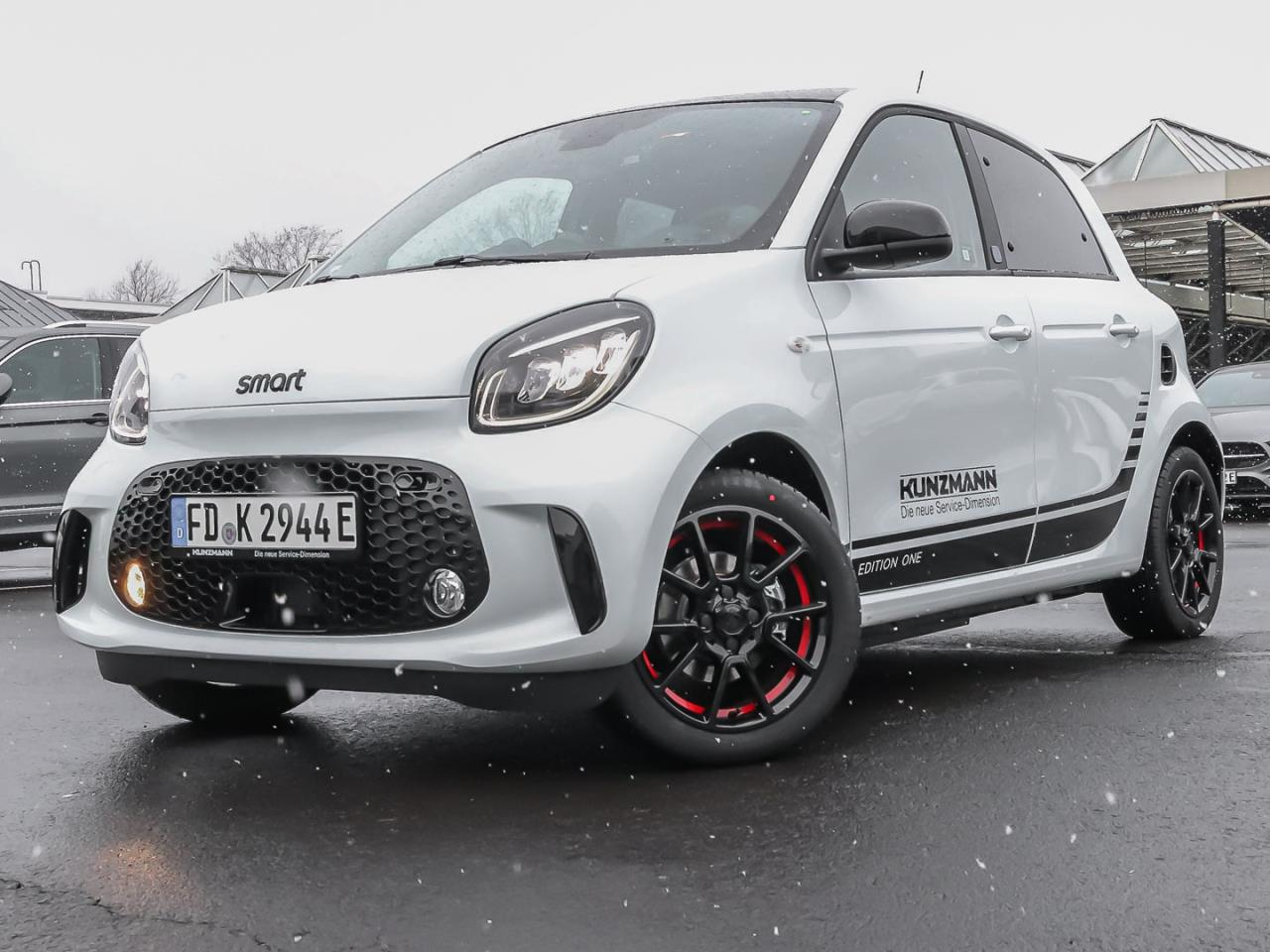 SMART smart EQ forfour Edition One LED Kamera SHZ