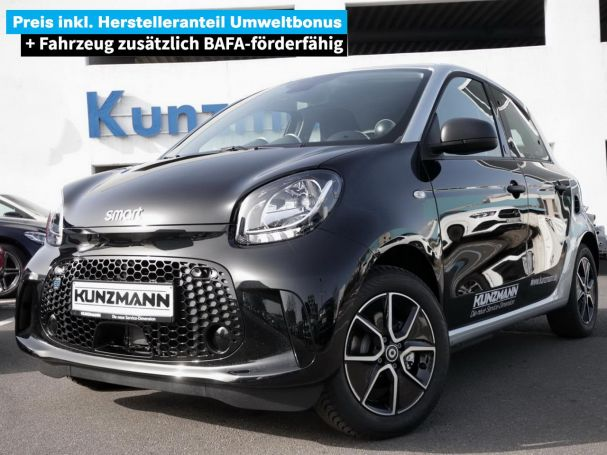 SMART smart EQ forfour Cool/Audio Plus-Paket Tempomat