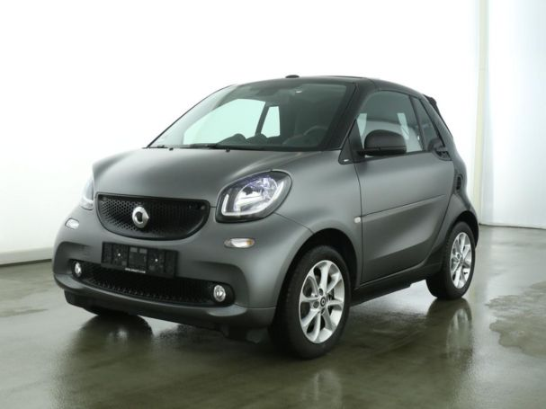 SMART fortwo cabrio passion Navi LED SHZ matt