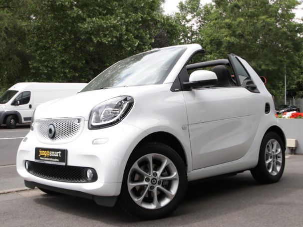 SMART fortwo cabrio  passion LED Spurhalte Verdeck rot