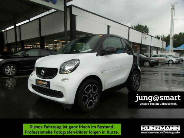 "SMART fortwo cabrio  passion cool&media Navi 15""LMR"