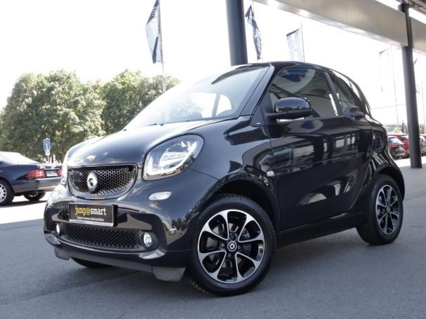 SMART fortwo coupé prime Navi LED Pano SHZ