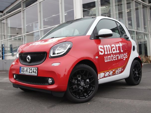 SMART fortwo coupé Sleek-Style crazy