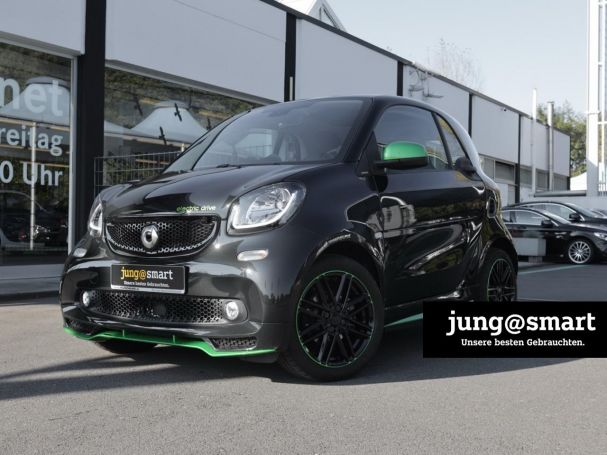 SMART fortwo coupé electric drive cool&media Panorama
