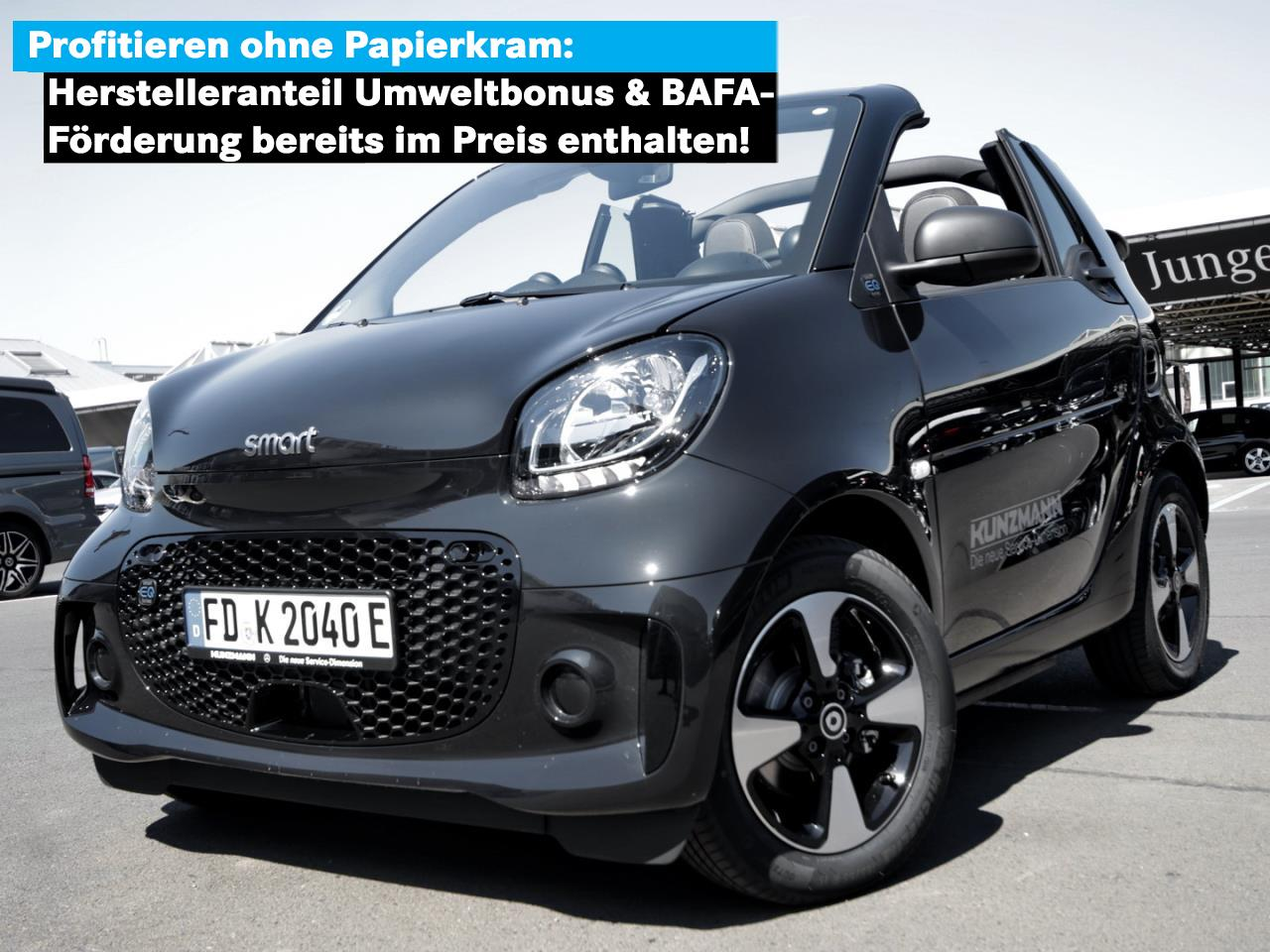 SMART smart EQ fortwo cabrio passion Cool & Audio SHZ