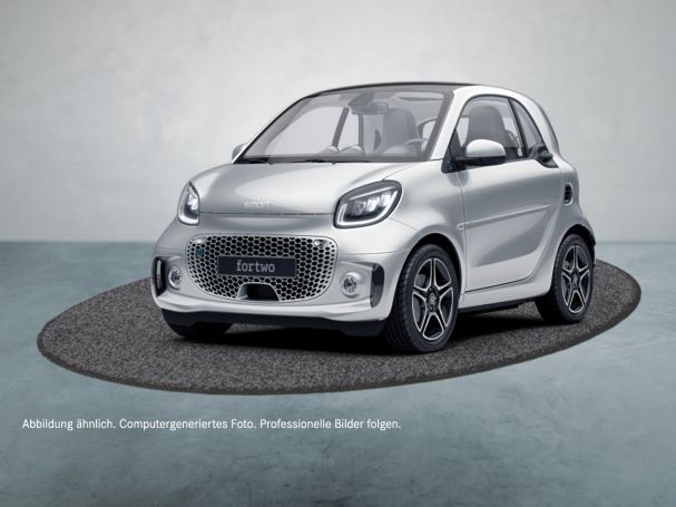 SMART smart EQ fortwo Exclusive Navi LED Panoramadach