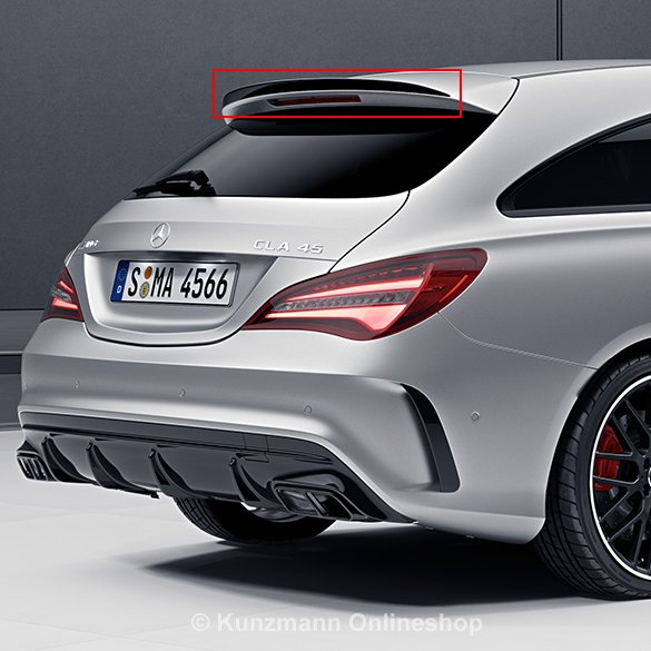 cla 45 amg rear spoiler cla shooting brake x117 genuine mercedes benz. Black Bedroom Furniture Sets. Home Design Ideas