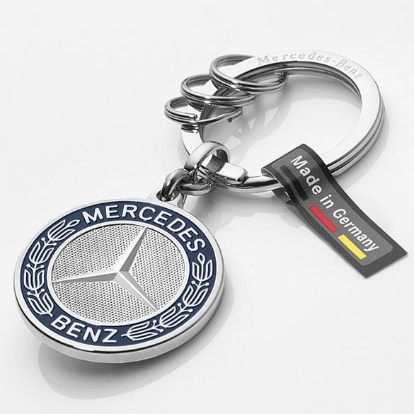 Keychains Stuttgart Silver Stainless Steel Genuine Mercedes Benz