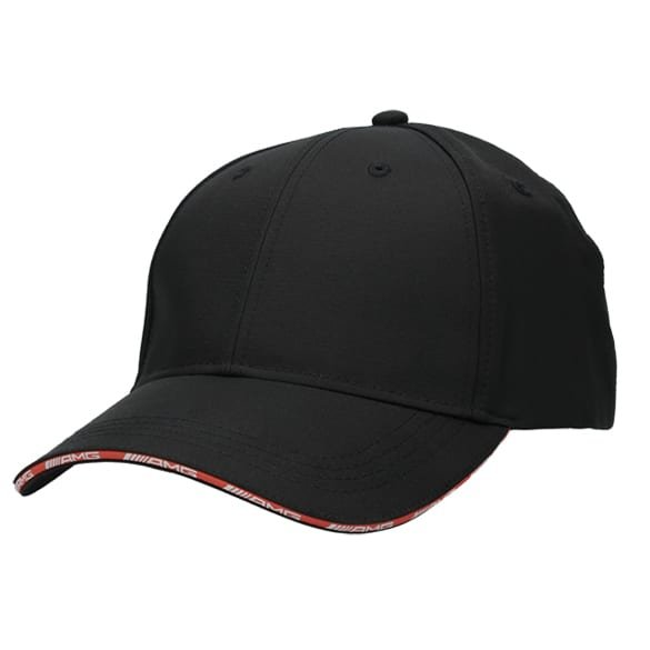 AMG Baseball Cap schwarz / rot Original Mercedes-AMG Collection