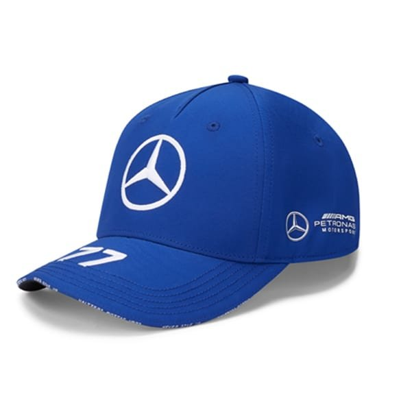 Petronas Bottas Cap Blau Original Mercedes-AMG Collection