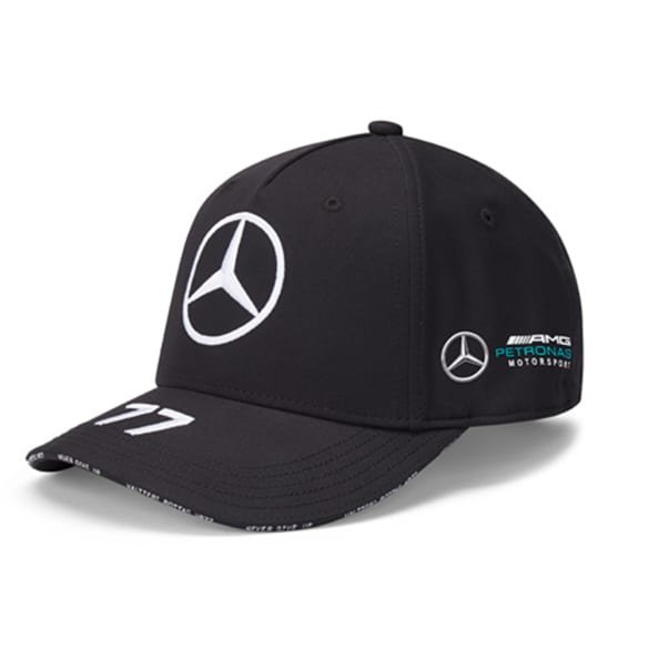 Petronas Bottas Cap Schwarz Original Mercedes-AMG Collection