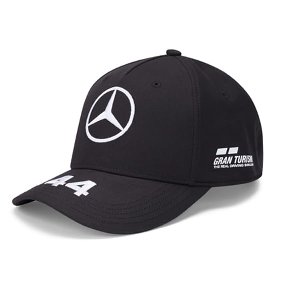 Petronas Hamilton Cap schwarz Original Mercedes-AMG Collection