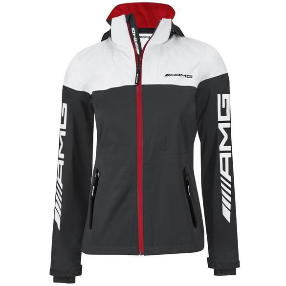AMG Softshelljacke Damen schwarz/weiß Original Mercedes-AMG Collection