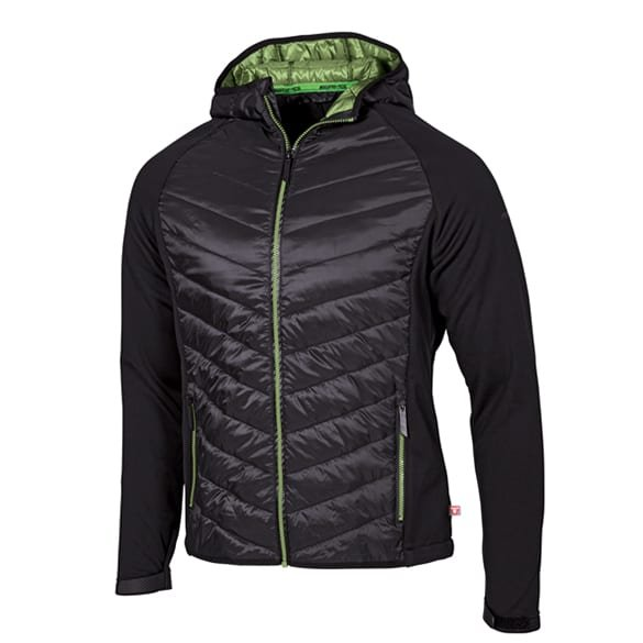 AMG Herren Hybridjacke schwarz / grün Mercedes-AMG Collection