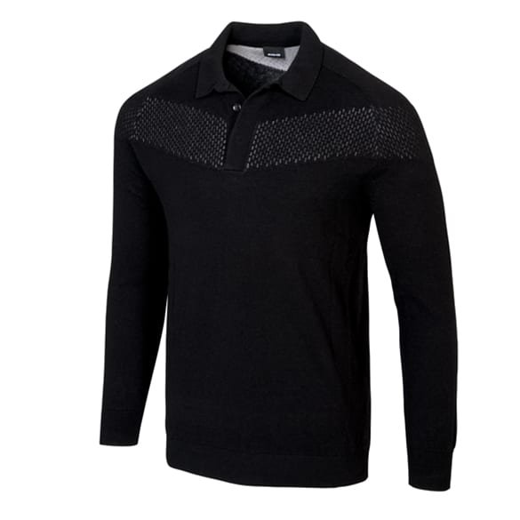 AMG Polopullover Herren langarm Original Mercedes-AMG Collection