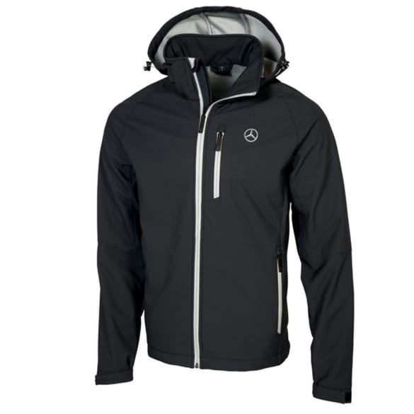 Softshelljacke Herren Schwarz Original Mercedes-Benz Collection