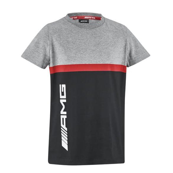 AMG T-Shirt Kinder grau / schwarz Mercedes-AMG Collection