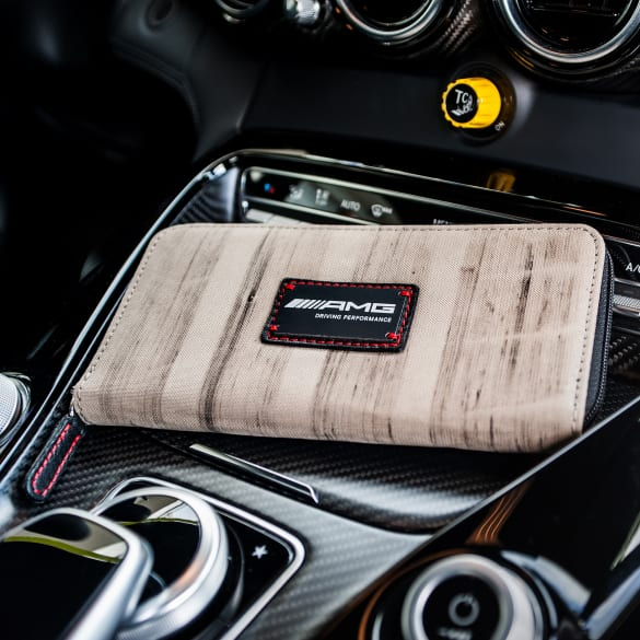 "AMG BurnOut ""Big Spender Wallet"" Geldbeutel beige Destroy vs Beauty"