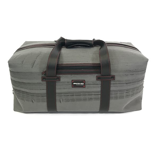 AMG BurnOut Weekender Bag Destroy vs. Beauty grau