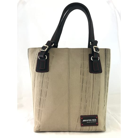 AMG BurnOut Bag Burlington Tasche beige Destroy vs. Beauty
