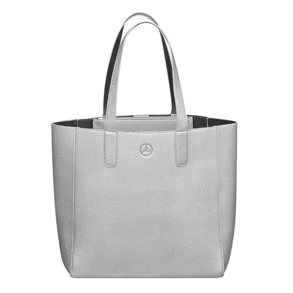 Shopper Damen Tasche silber Original Mercedes-Benz Collection