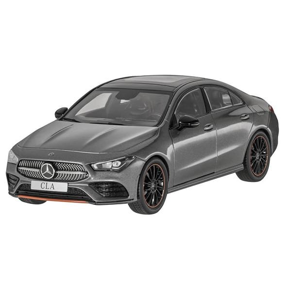 1:18 Modellauto Mercedes-Benz CLA Coupé C118 mountaingrau
