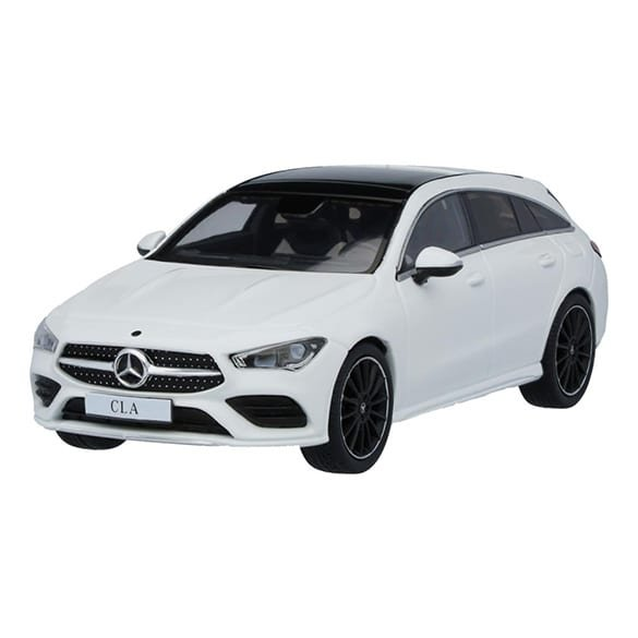 1:43 Modellauto Mercedes-Benz CLA Shooting Brake X118 polarweiß