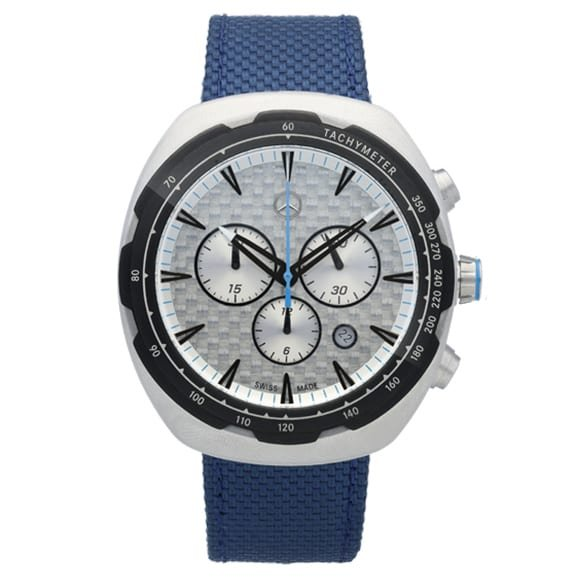 Chronograph blau Herren Motorsports Original Mercedes-Benz Collection