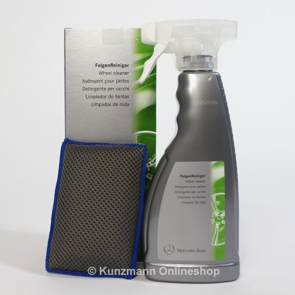 Wheel cleaner cleaning exterior genuine mercedes benz for Mercedes benz exterior car care kit