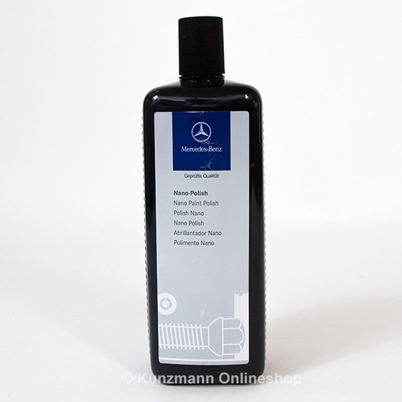 Nano polish poliermittel original mercedes benz for Mercedes benz cleaning products