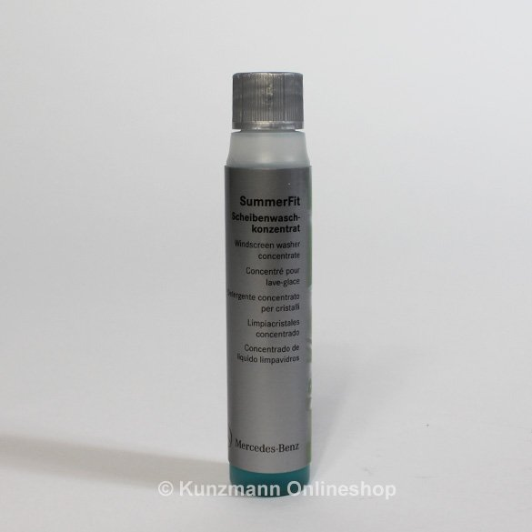 Summerfit windscreen washer concentrate care exterior for Mercedes benz cleaning products