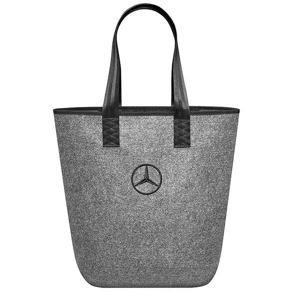 Shopping bag accessories genuine mercedes benz for Mercedes benz seat belt purse