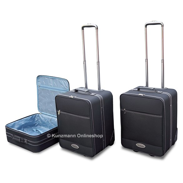 koffer set 3tlg sl r230 original roadsterbag. Black Bedroom Furniture Sets. Home Design Ideas