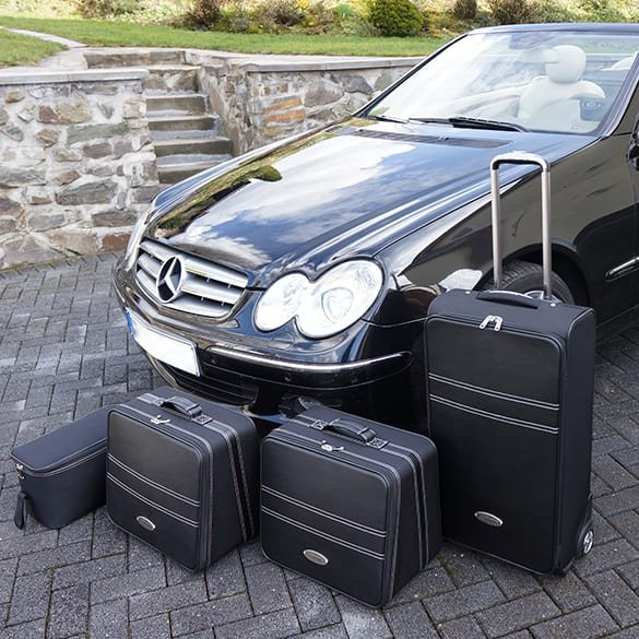 Koffer-Set 4tlg. CLK W208 / W209 Original Roadsterbag