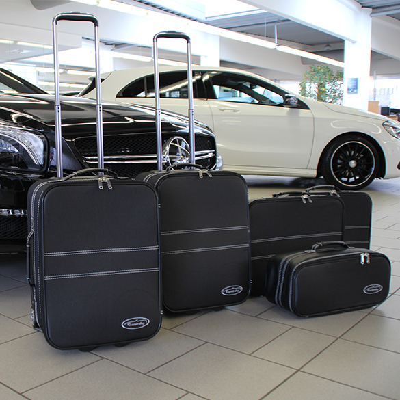 suitcase set mercedes benz sl   piece genuine roadsterbag