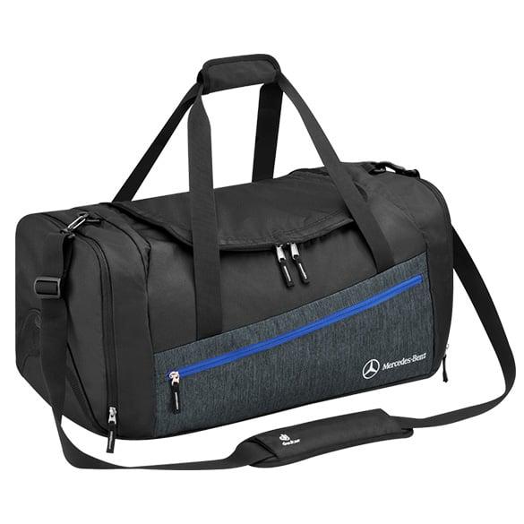 Sports bag black gray genuine mercedes benz accessories for Mercedes benz purse