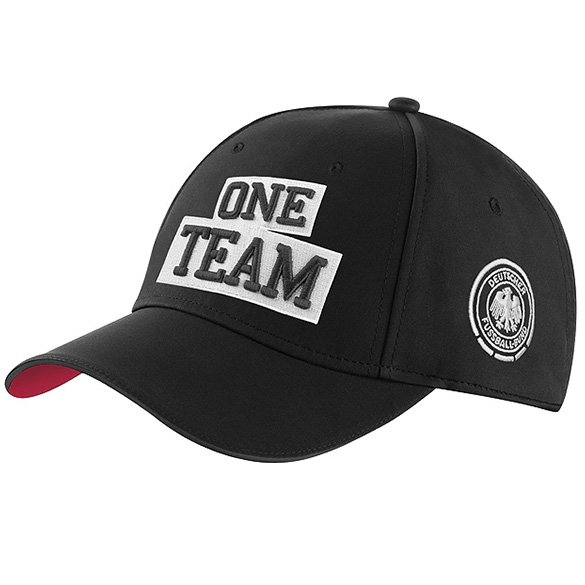 One team cap schwarz mit dfb adler original mercedes benz for Mercedes benz hats sale
