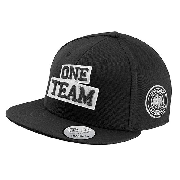 One team snapback cap kids schwarz mit dfb adler original for Mercedes benz hats sale