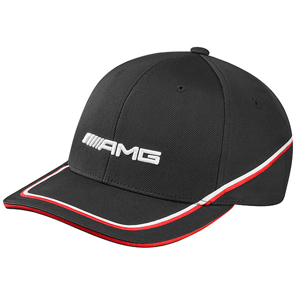 Amg flexfit cap men black genuine mercedes benz for Mercedes benz caps hats
