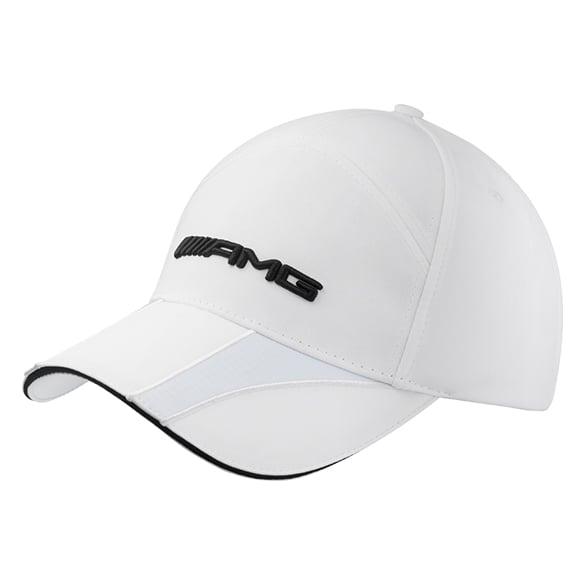 Amg cap women white genuine mercedes benz for Mercedes benz amg hat