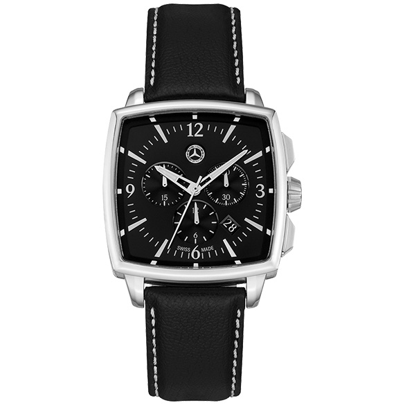 Watch men chronograph classic carr genuine mercedes benz for Mercedes benz watch collection